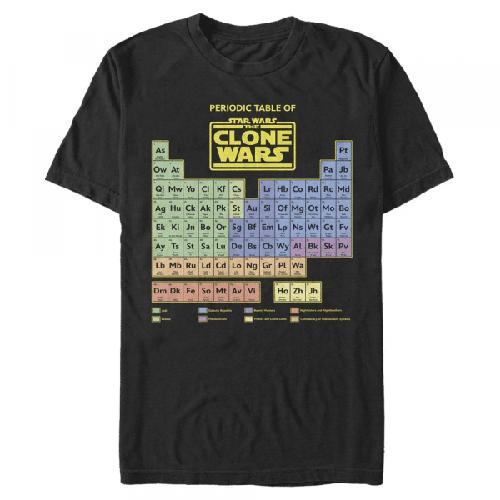 Clone Wars Table - Star Wars Klonenkriege - Männer T-Shirt