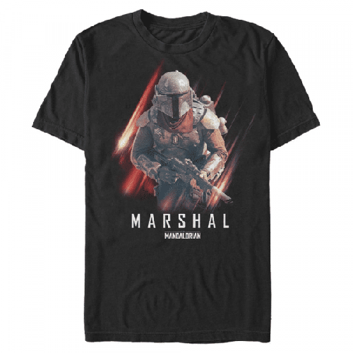 Marshal Action The Marshal - Star Wars Mandalorian - Männer T-Shirt