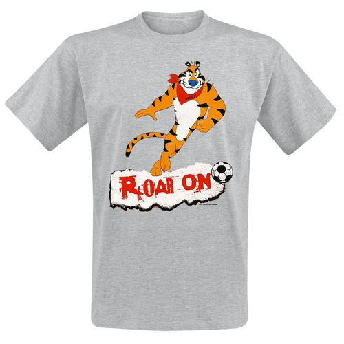 Kellogg's Roar On Herren-T-Shirt - grau meliert - Offizieller & Lizenzierter Fanartikel