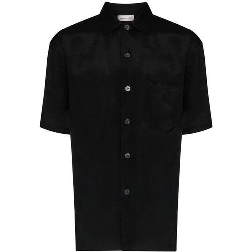 Alexander McQueen Hemd mit Drachenstickerei