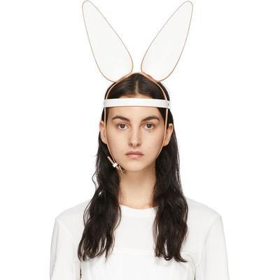 Fleet Ilya Serre-tête blanc Bunny Ears exclusif à SSENSE