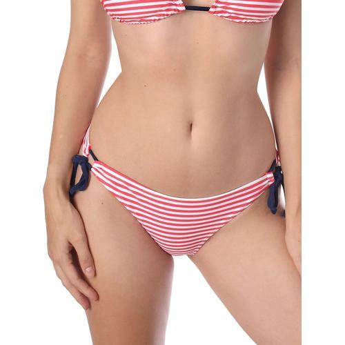 Bikini Slip CLASSY STRIPE sassa red