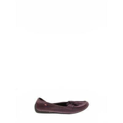 BC Footwear Flats: Purple Solid Shoes - Size 8 1/2