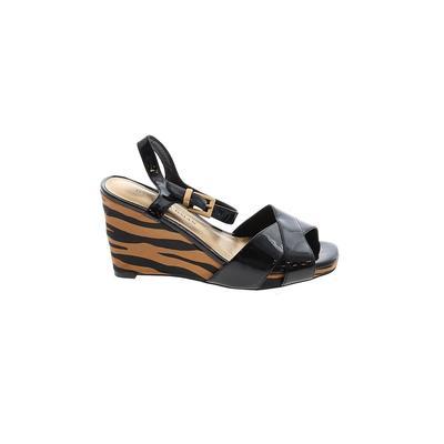 Dana Buchman Wedges: Black Shoes - Size 6