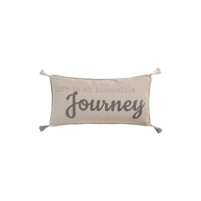 Levtex Natural Arista Life Journey Pillow