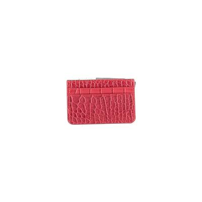 B-Low The Belt Leather Card Holder: Burgundy Bags