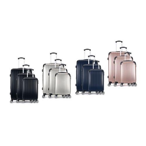 Reisekoffer: Kabinen-Koffer/ Silber