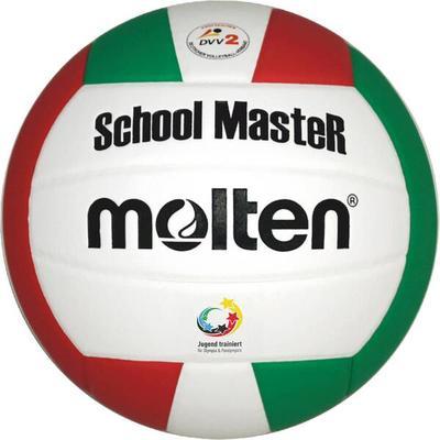 MOLTEN Volleyball V5SMC, Größe 5 in Weiß/Grün/Rot