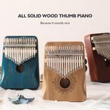 Piano à pouce en bois de haute q...