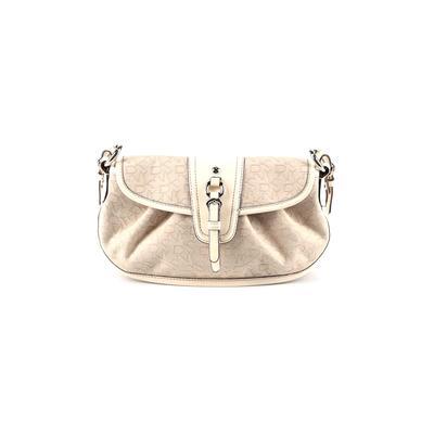 DKNY - DKNY Shoulder Bag: Ivory Solid Bags