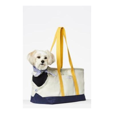 The Painter's Wife - Constantin Dog Carrier Navy Yellow - S
