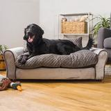 Keet Westerhill Sofa Cat & Dog Bed w/ Removable Cover, Charcoal, Large