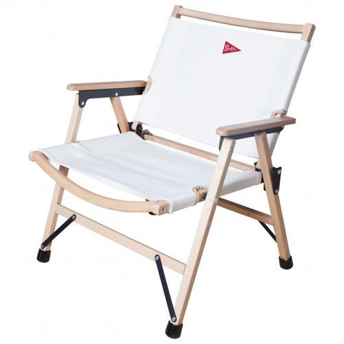 Spatz - Woodstar - Campingstuhl weiß/grau