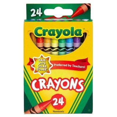 Crayola 24 Count Nontoxic Crayons