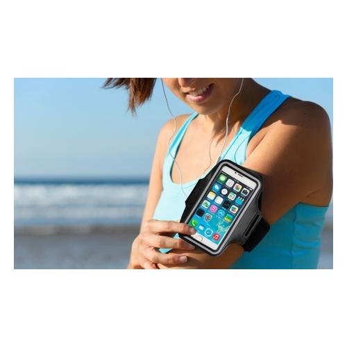Sportarmband für Apple iPhone: 4 4s 5 5s SE1 SE2 6 6s 7 8/ Rot/ 1