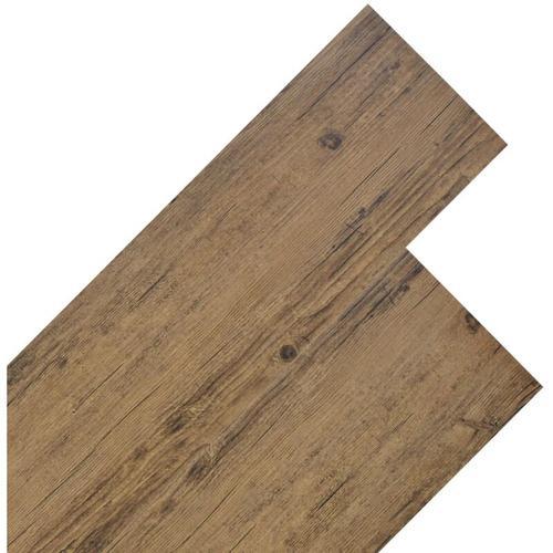 PVC Laminat Dielen 5,26 m² 2 mm Walnuss-Braun