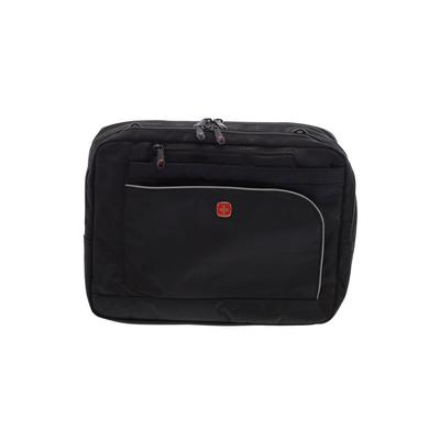 Swiss Gear Laptop Bag: Black Solid Bags