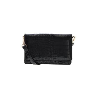Fashion Nova - Fashion Nova Crossbody Bag: Black Solid Bags