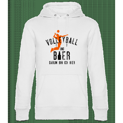 Volleyball Und Bier - Unisex Hoodie