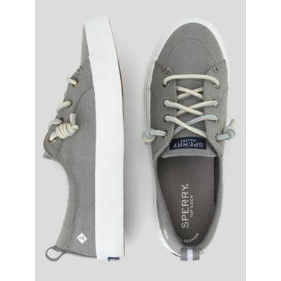 Women's Sperry Crest Vibe Sneaker, Grey 10 Misses