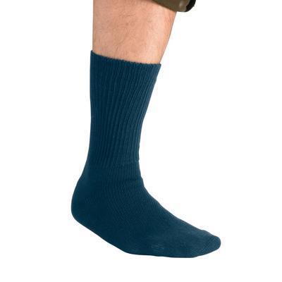 Diabetic Crew Socks by KingSize in Navy (Size XL)