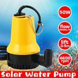 Pompe à eau solaire 50W 4500L/H ...