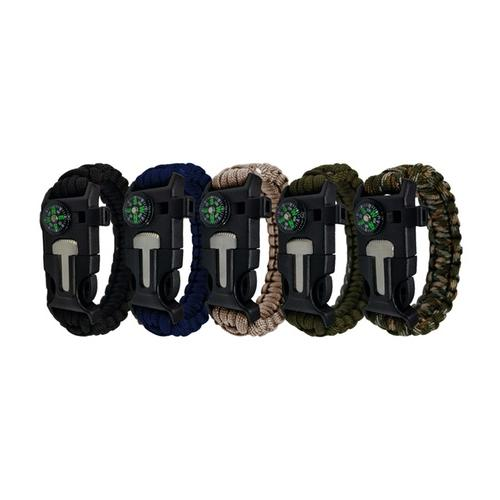 Survival-Armband: 4/ Khaki