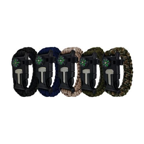Survival-Armband: 4/ Schwarz