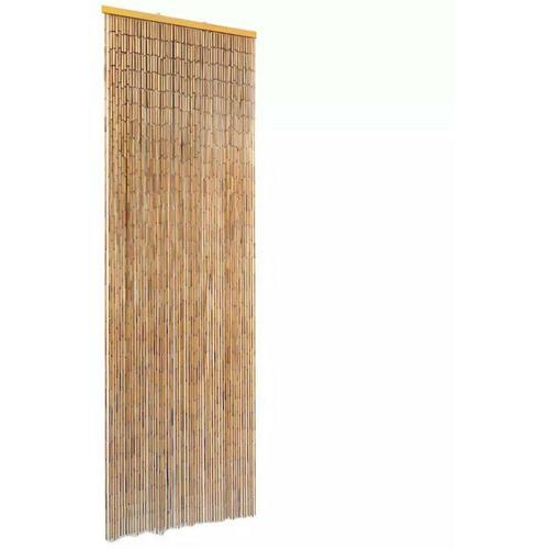 Insektenschutz Türvorhang Bambus 56 x 185 cm 28007 - Topdeal