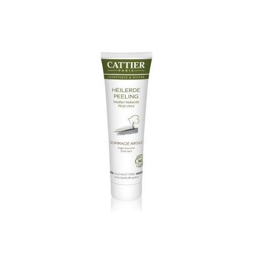 Cattier Reinigung Weiße Heilerde - Aloe Vera Gesichtspeeling 100 ml