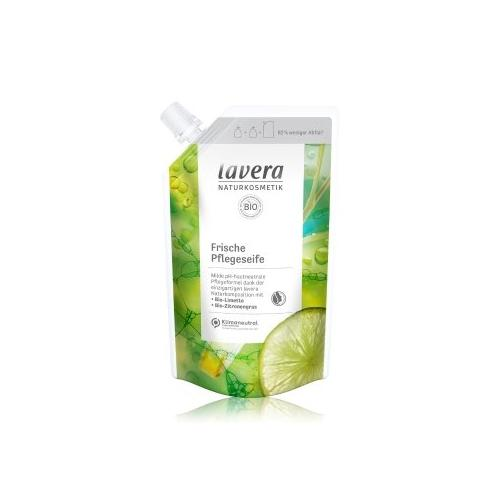 lavera Frisch Bio-Limette & Bio-Zitronengras-Refill Flüssigseife 500 ml