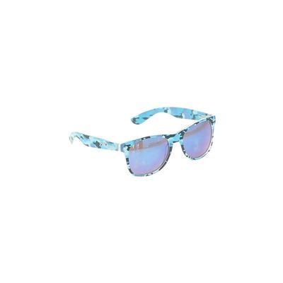 Sunglasses: Blue Floral Accessories