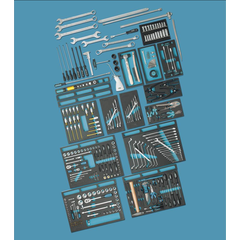 NEO TOOLS Werkzeugset 08-673 Werkzeugsatz,Steckschlüsselsatz