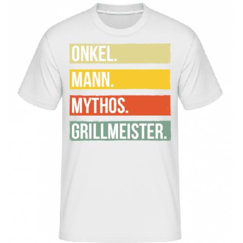 Onkel Mann Mythos Grillmeister - Shirtinator Männer T-Shirt