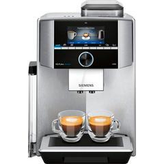 SIEMENS Kaffeevollautomat EQ.9 plus connect s500 TI9558X1DE, extra leise, automatische Reinigung, bis zu 10 individuelle Profile silberfarben Kaffee Espresso SOFORT LIEFERBARE Haushaltsgeräte