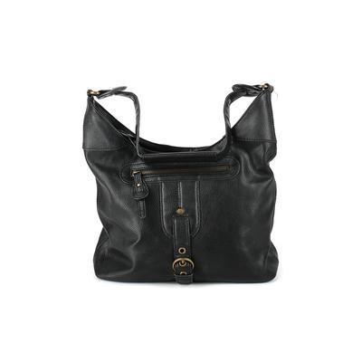 Liz Claiborne - Liz Claiborne Shoulder Bag: Black Solid Bags