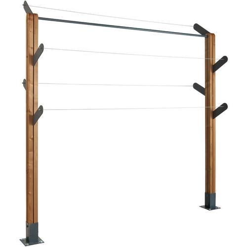 Jardipolys - Wäscheleine KAKTUS   max. 180 cm