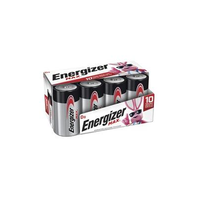 Energizer Max Alkaline D Batteries - For Multipurpose - D - Alkaline - 96 / Carton - EVEE95FP8CT