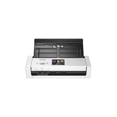 Brother ADS-1700W Wireless Compact Desktop Scanner - 48-bit Color - 25 ppm (Mono) - 25 ppm (Color) - Duplex Scanning - USB - BRTADS1700W