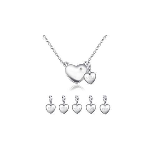 Halskette mit echtem Diamanten: Nan
