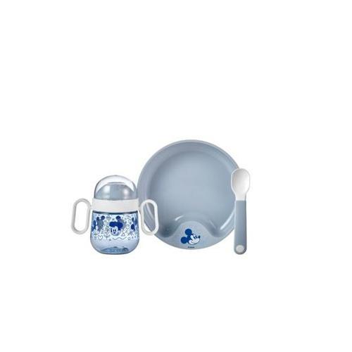 Geschirr Set Set Babygeschirr Mepal Mio 3-teilig schwarz