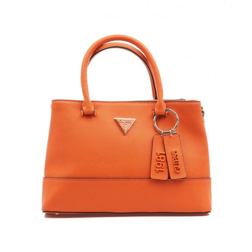 Guess Damen Handtasche Satchel Cordelia Orange