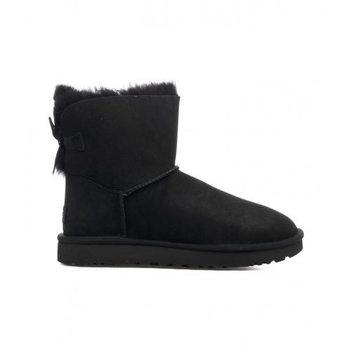 UGG Damen Boots Mini Bailey Bow Schwarz