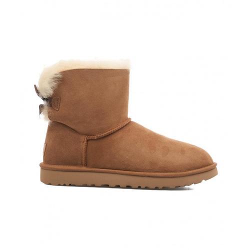 UGG Damen Boots Mini Bailey Bow Braun