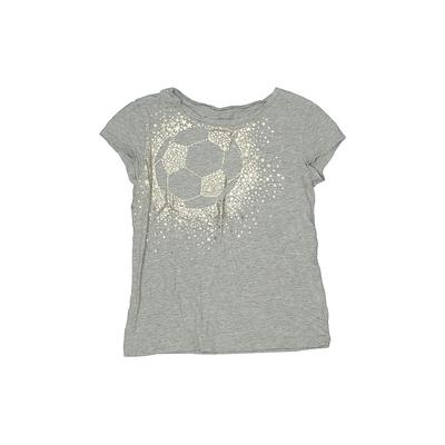 Gap Kids - Gap Kids Short Sleeve T-Shirt: Gray Solid Tops - Size 6