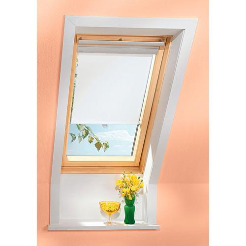 VELUX Dachfensterrollo, Lichtschutz beige Dachfensterrollos Rollos Jalousien Dachfensterrollo