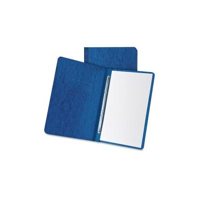 """""""Oxford Letter Recycled Report Cover - 3"""""""" Folder Capacity - 8 1/2"""""""" x 11"""""""" - 2 x Prong Fastener(s) - Pressboard - Dark Blue - 65% Recycled - 1 Each - OXF12902"""""""