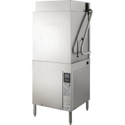 Hobart AM16T-BAS-2 High Temp Door Type Dishwasher w/ Built-in Booster, 208-240v/3ph