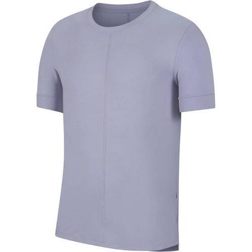 NIKE Herren Yoga T-Shirt Nike Yoga Dri-Fit, Größe L in Grau
