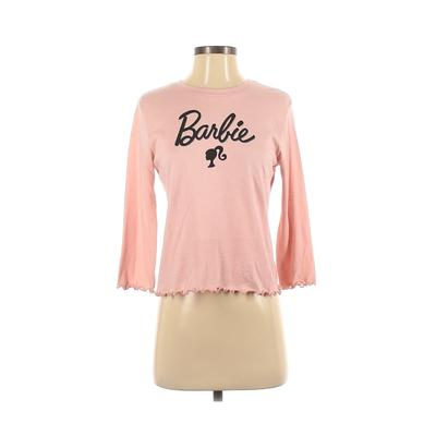 Love Tribe Apparel - Love Tribe Apparel Long Sleeve T-Shirt: Pink Solid Tops - Size Small
